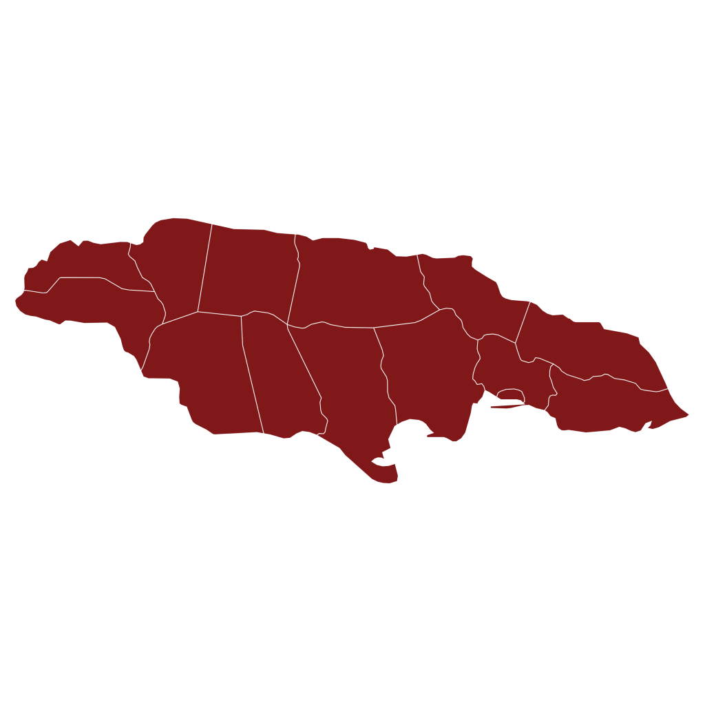 Map, Jamaica